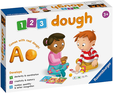 Ravensburger 1 2 3 Dough Game Educational Preschool