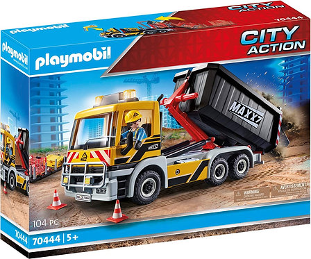 Playmobil 70444 City Action Construction Interchangeable Truck