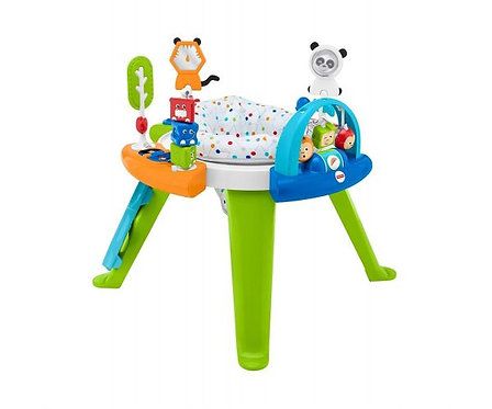 Fisher Price 3-in-1 Spin and& Sort Activity Center Baby Toy