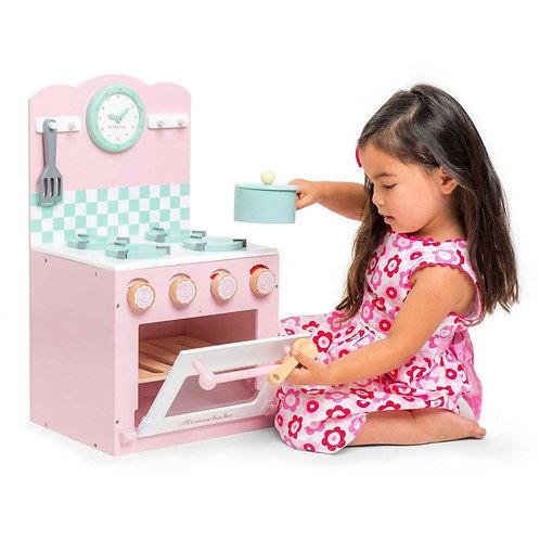 Honeybake Oven & Hob Set - Pink