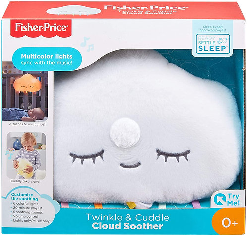 Fisher Price twinkle and& cuddle cloud soother sleep aid