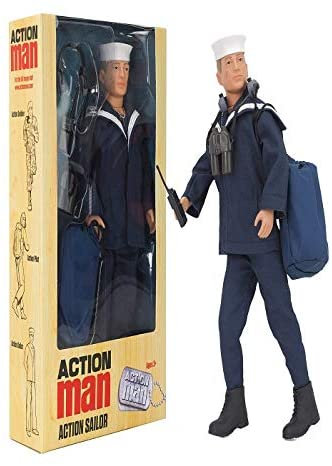Action Man Action Sailor Doll Figure AM720