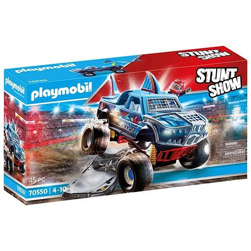Playmobil 70550 Stunt Show Shark Monster Truck Playset