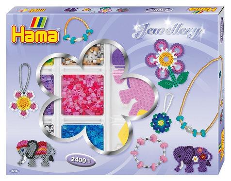 Hama 2,400 Beads Jewellery Set