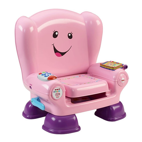 Fisher Price Laugh and & Learn Smart Stages Pink Activity Chair baby toddler toy