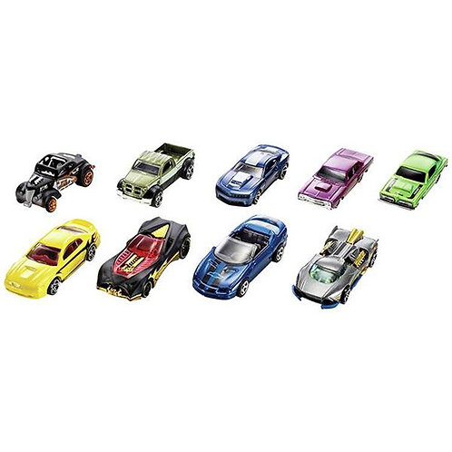 Hot Wheels Cars Pack of 9 Gift Set