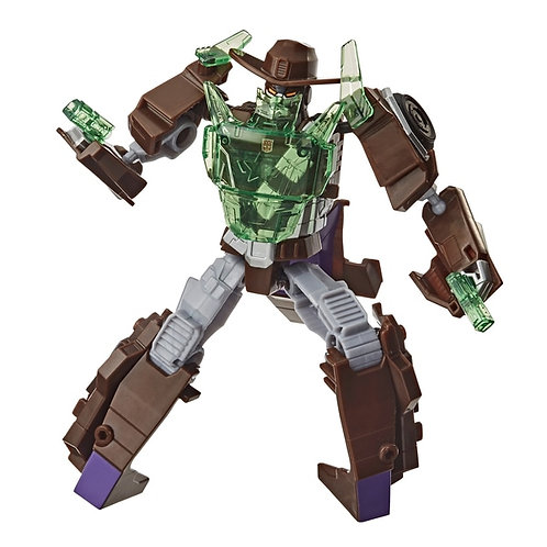 Transformers Cyberverse Trooper Class Battle Call Wildwheel Figure