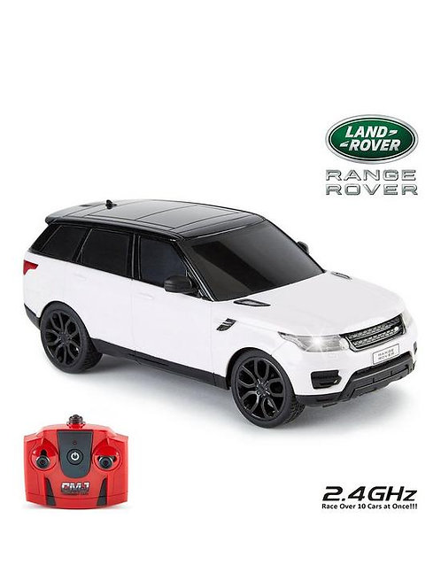 RC Radio Controlled Range Rover in White 1:24