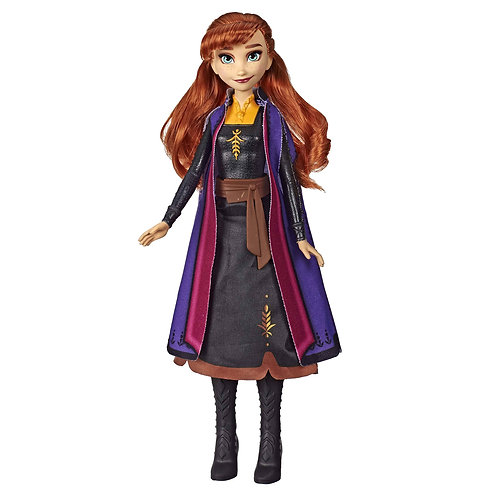 Disney's Frozen 2 Anna Autumn Swirling Adventure Doll