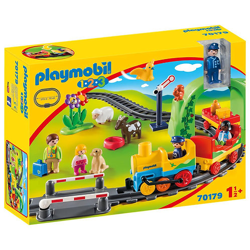 Playmobil 1.2.3 My First Train Set Toddler Gift 18 months