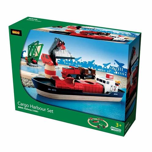 Brio 33061 Cargo Harbour Set