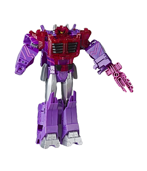 Transformers Cyberverse Adventures Ultimate Class Energon Armour Shockwave