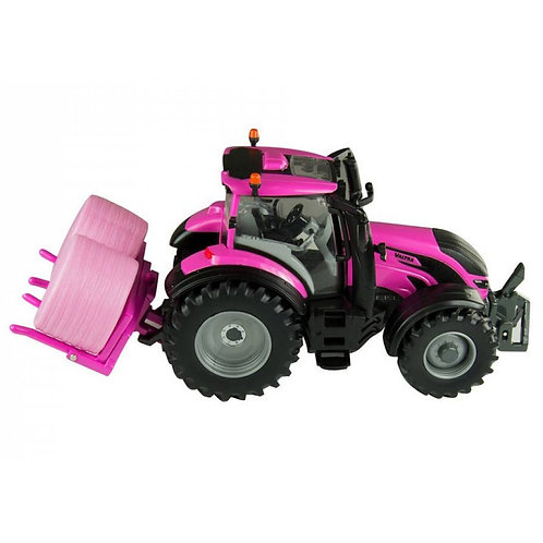 Britains 43247 Valtra Pink Tractor Play Set