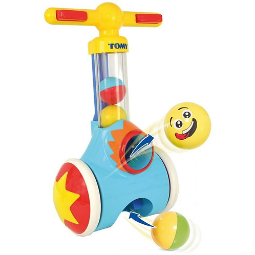Tomy Toomies Pic &and Pop Ball Blaster Walking Push Along Toy