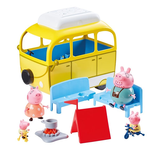 Peppa Pig's Camping Trip Playset Campervan