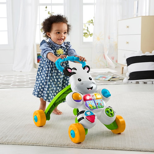 Fisher-Price Learn with Me Zebra Walker Baby Walker toddler toy