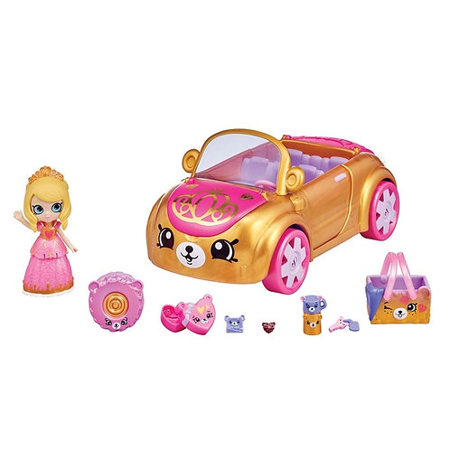 Shopkins Happy Places Royal Trends Car Playset Toy