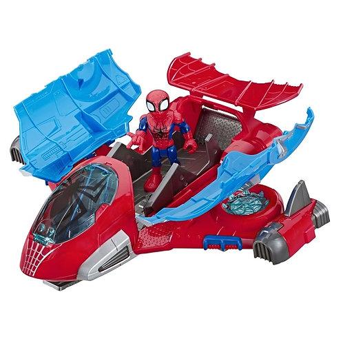 Playskool Heroes Marvel Spider-man Jetquarters