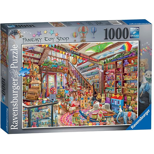Ravensburger Jigsaw The Fantasy Toy Shop 1000 Piece Puzzle for Adults