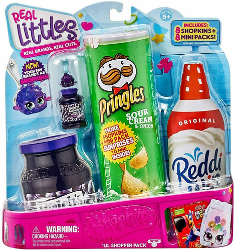 Shopkins Real Littles 'Lil Shopper Pack 8 Shopkins