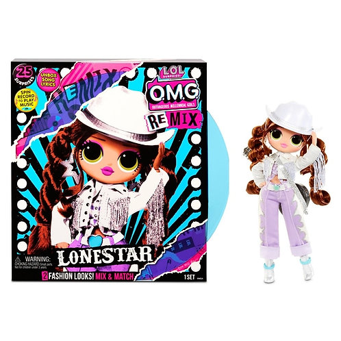 LOL Surprise OMG Remix Lonestar Doll