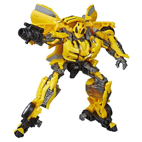 Transformers Toys Studio Series 49 Deluxe Class Movie 1 Bumblebee Action Figure