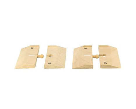 Wooden Roadway Ramps (Pack of 4) Bigjigs Item RTBJR104