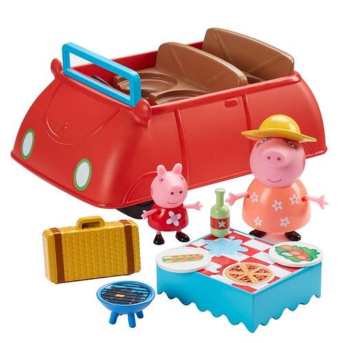 Peppa Pig's Big Red Car Playset