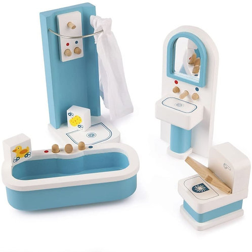 Dolls Bathroom Set