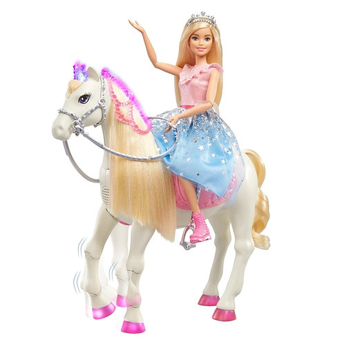 Barbie Princess Adventure Prance and Shimmer Horse and Doll