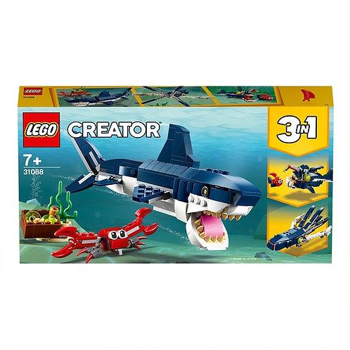 Lego 31088 Creator 3in1 Deep Sea Creatures Building Set Shark