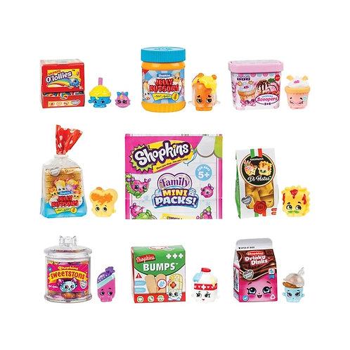 Shopkins Family Mini Packs Shopper Pack - 8 Mini Packs & 8 Shopkins Toy