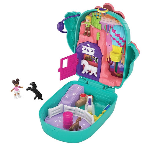 Polly Pocket Cactus Cowgirl Ranch Compact Playset