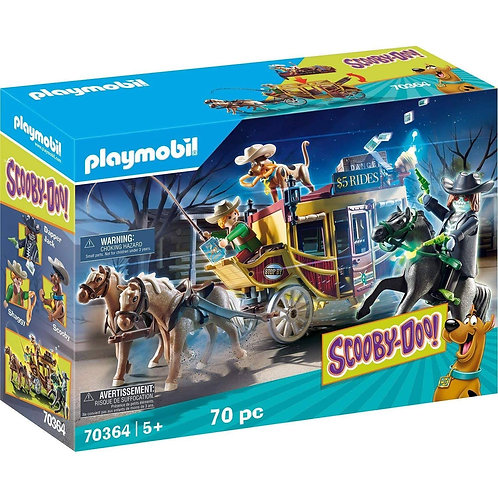 Playmobil 70364 Scooby Doo! Adventure in The Wild West