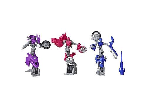 Transformers Studio Series 52 Deluxe Chromia, Arcee, and Elita-1