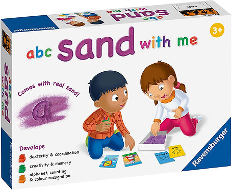 Ravensburger A B C Sand With Me Game Educational Preschool