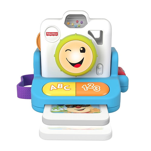 Fisher Price Click and& Learn Instant Camera Polaroid Baby Toy