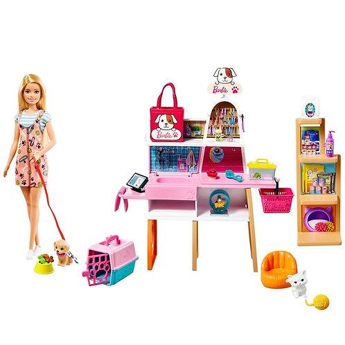 Barbie Doll Pet Supply Store Shop Boutique Playset