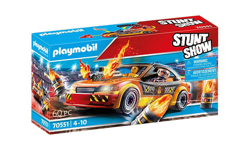 Playmobil 70551 Stunt Show Crash Car Playset