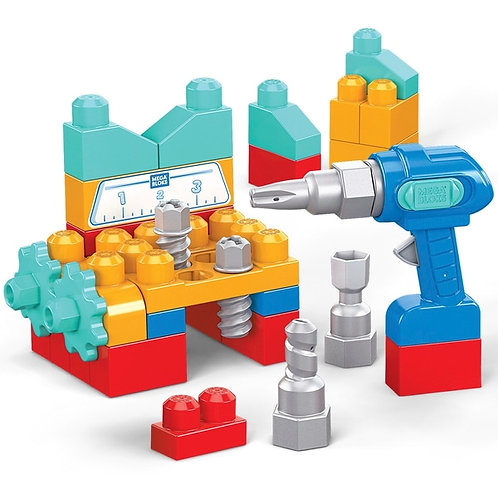 Mega Bloks Fisher Price Lil' Building Drill Set
