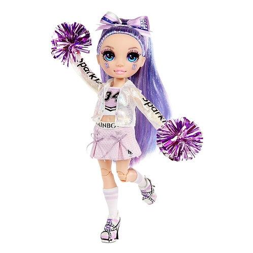 Rainbow High Cheer Dolls Violet Willow Purple