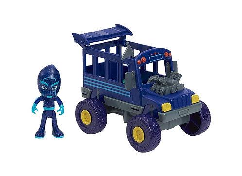 PJ Masks Night Ninja Bus Vehicle and Figure
