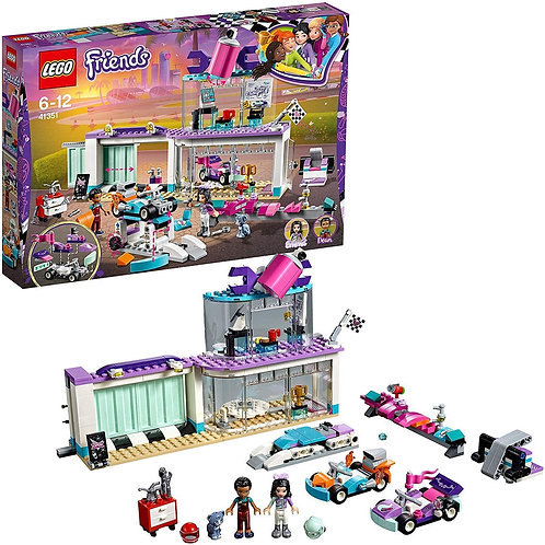 LEGO 41351 Friends Heartlake Creative Tuning Shop with  Rotating Showroom