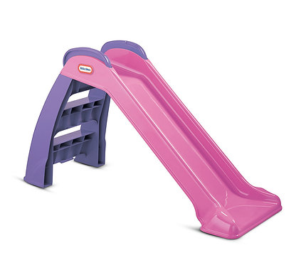 Little Tikes My First Slide Pink Purple 3ft Toddler