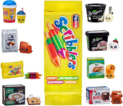 Shopkins Real Littles Icy Treats - Lil' Shopper Pack Assortment Toy