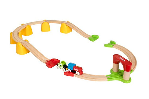 Brio 33710 My First Wooden Railway Battery Operated Train Set