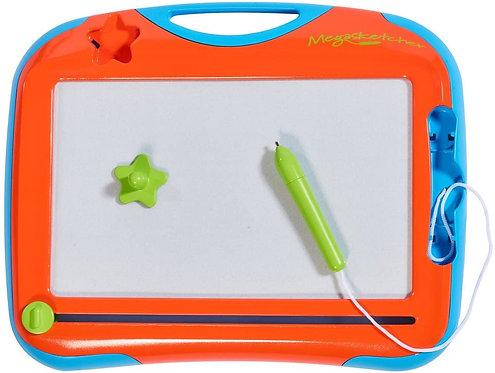 Tomy Megasketcher Mini Board Magnetic Drawing Orange