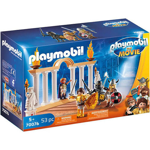 Playmobil Movie Emperor Maximus in The Colosseum 70076