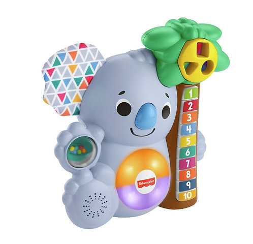 Fisher price linkimals counting koala baby lights music toy