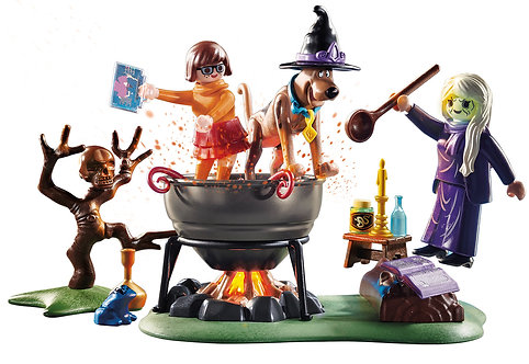 Playmobil 70366 Scooby Doo! Adventure in the Witches Cauldron